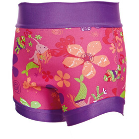 Zoggs Mermaid Flower Swimsure Baby Nappy Pink/Multi